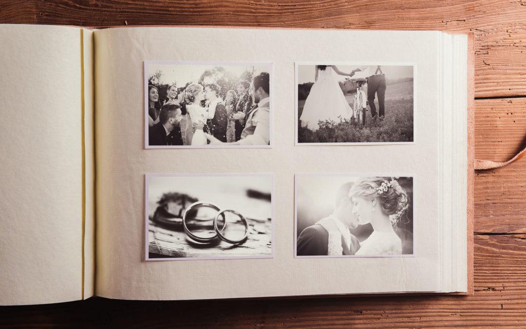 Bleibende Erinnerungen mit dem individuellen Hochzeitsalbum